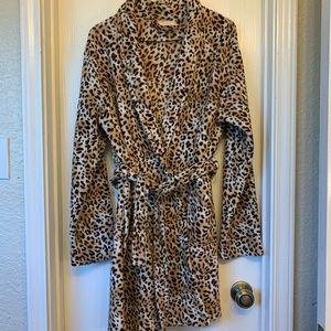 Cheetah Print Bath Robe XL